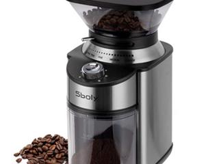 Sboly  Flat Burr Coffee Grinder  60Hz 120V 150W  Hy 1421