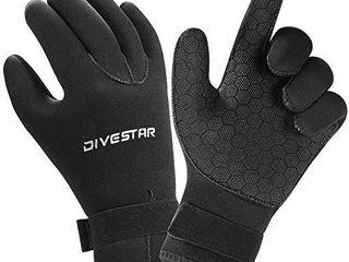 Wetsuit Gloves Neoprene Scuba Diving Gloves Surfing Gloves 3MM 5MM for Men Women Kids  Thermal Anti Slip Flexible Dive Water Gloves for Spearfishing Swimming Rafting Kayaking Paddling  3MM  M