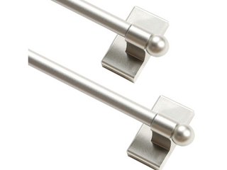 Home Decor Magnetic Rods  Silver