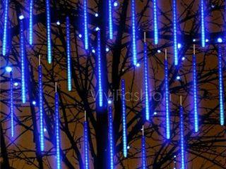 Ten 20in Blue Meteor lights