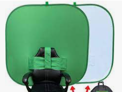 Back of Chair Green Screen