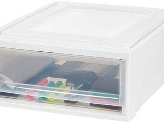 Two Plastic Storage Bins