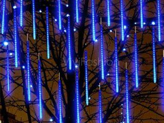 Blue Meteor lights