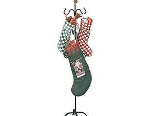 Christmas Stocking Holder in Wrought Iron