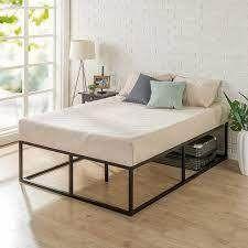 Zinus Joseph 18 Inch Metal Platforma Bed Frame   Mattress Foundation   Wood S