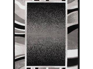 Global Rug Design loma lOM03 Black 7 8  x 10 7  Area Rug