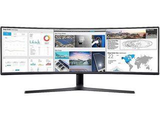 Samsung   49  CJ890 Super Ultra Wide Curved Monitor  HDMI