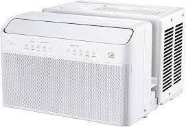 Midea U Inverter Window Air Conditioner 8 000btu  U shaped Ac With Open Windo