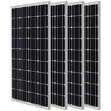 Four Renogy High Quality Premium Solar Modull