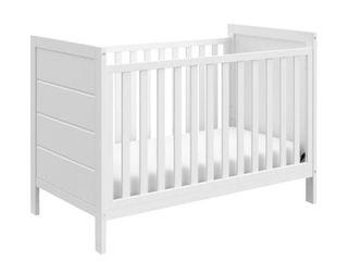 Storkcraft Nestling 3 in 1 Convertible Crib   White