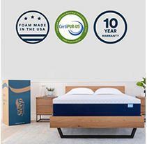 Sleep Innovations 14 Inch Memory Foam Mattress  King