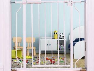 Pet Safety Gate Door Walk Through Child Toddler Metal Easy locking System Retail   58 99