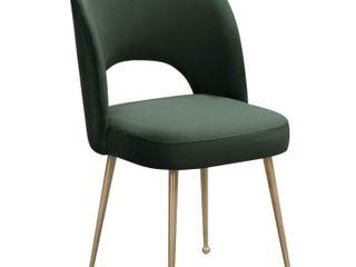 Swell Velvet Upholstered Dining Chair  Retail 221 99