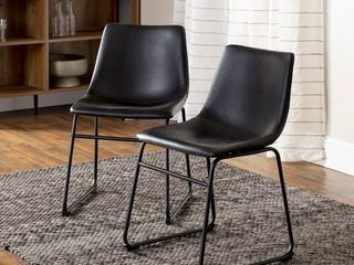 Carbon loft Prusiner Faux leather Counter Chair  1 CHAIR  Retail   74 99