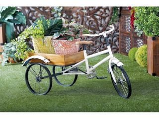 Farmhouse 24x48 Tricycle Cart Metal  amp  Wood  Retail  169 49
