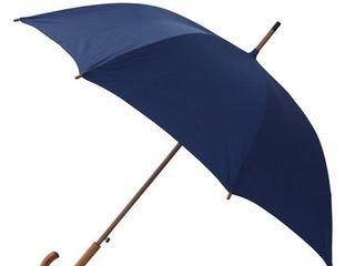 RainWorthy 48 inch luxury Wood Handle Umbrella   l Retail   24 74