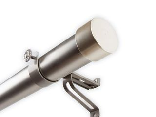 InstyleDesign Hood 1 5 inch Adjustable Curtain Rod  Retail 86 99