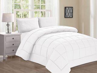 Elegant Comfort Hypoallergenic Double Filled Comforter  Duvet Insert King  Retail  64 49