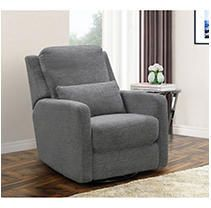 Abbyson Sophie Swivel Glider Reclining Chair  Retail 536 49