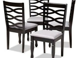 Modern and Contemporary Dining Chair  Set of 4  Retail 221 49
