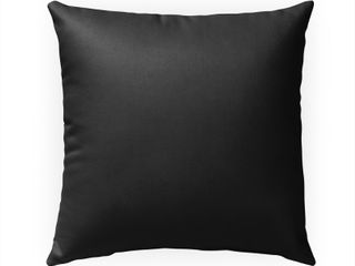 CHAR DREAM Indoor Outdoor Pillow by Kavka Designs Grey 18X18  Retail   41 49