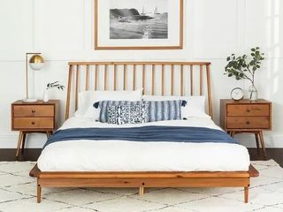 Carson Carrington Blaney Solid Pine Wood Spindle Bed Retail 392 99