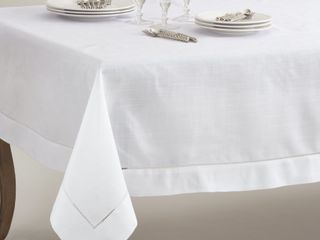 Rochester Collection Hemstitched Tablecloth Retail 111 49