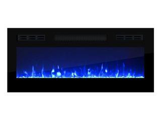 Mobile Furniture Eva KBl Electric Fireplace Insert 32   Retail  248 99