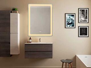 Smart Backlit lED Illuminated Fog Free Mirror Retail   185 00