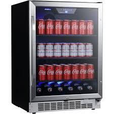 EdgeStar 24 Inch Wide 142 Can Built In Beverage Cooler