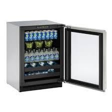U line 2000 Series  U2224BEVINT00B  24 Inch Built in Beverage Center