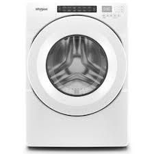 Whirlpool 1 9 cu ft High Efficiency Stackable Front load Washer  White  ENERGY STAR  Item  1325122Model  WFW3090JW