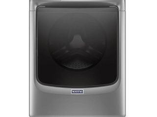 Maytag   4 8 Cu  Ft  12 Cycle High Efficiency Front loading Washer with Steam   Metallic Slate