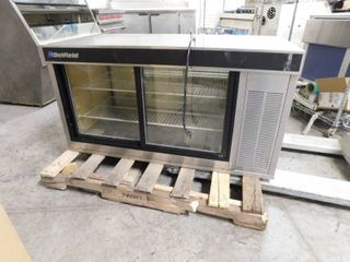 Delfield Pass Thru Refrigerated Display 48