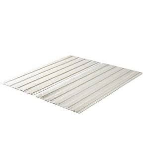 Zinus Annemarie Solid Wood Bed Support Slats   Fabric covered   Bunkie Board