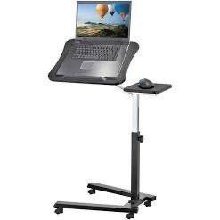 Tatkraft Vanessa Sturdy laptop Desk With Mouse Board  Adjustable laptop Stand