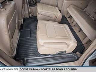 SMARTlINER B0046 for 2008 2019 Dodge Grand Caravan Chrysler Town   Country  Stow n Go Only  Black