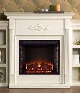 SEI Tennyson Fireplace Mantel  Ivory