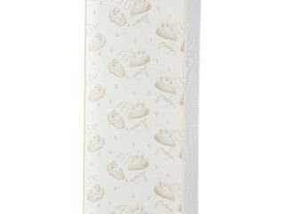 Dream On Me 2 In 1 Breathable Twilight 5  Spring Coil Crib and Toddler Bed Mattress in Reversible Design