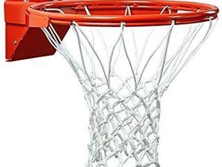 PROGOAl Breakaway Basketball Rim  Heavy Duty Pro Slam Flex Rim Replacement 5 8 In  Standard Goal Reinforced Mounting Bracket Fit Most Size Backboards Indoor and Outdoor