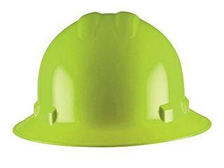 Cordova Safety Products H36R6C Duo Safety Full Brim Helmet W  6 Pt  Nylon Ratchet Suspension