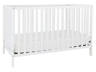 Union 4 in 1 Convertible Crib  White