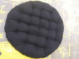 Papasan Chair Cushion Black