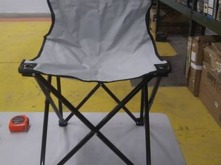 Childrens Folding Camping Chair Gray