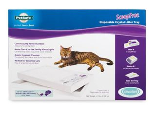 PetSafe ScoopFree Cat litter Box Tray Refills with Sensitive Non Clumping Crystals  1 Pack