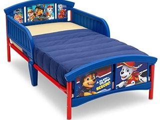 Delta Children Plastic Toddler Bed  Nick Jr  PAW Patrol   MISSING 1 MIDDlE lEG