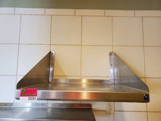 2ft Stainless Steel Shelf