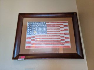 Framed Flag Print