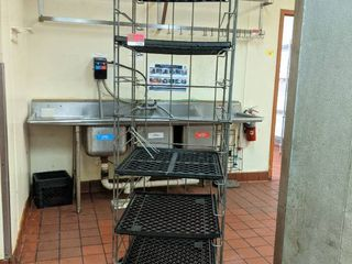 Bread Rack On Casters