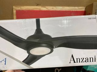 Minka Ceiling Fan  Anzanin style  3 ABS blades coal finish